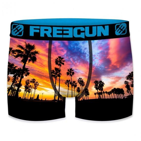 FREEGUN Boxer Homme Summer Collection 2020 Beach Palmier (Boxers) Freegun chez FrenchMarket