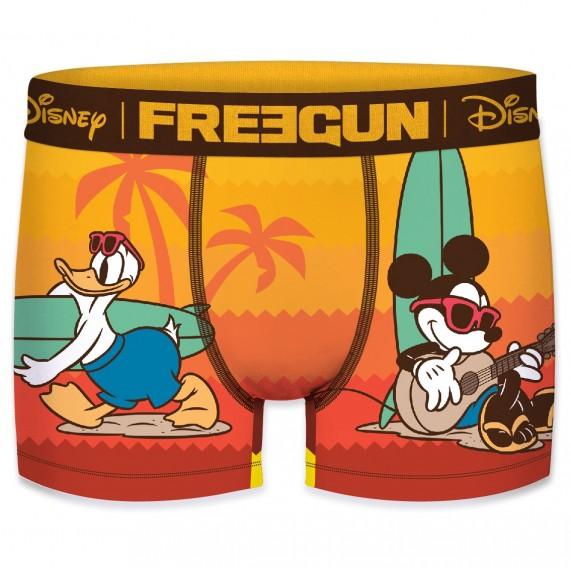 FREEGUN Boxer Homme Disney Mickey & Donald Surf (Boxers) Freegun chez FrenchMarket