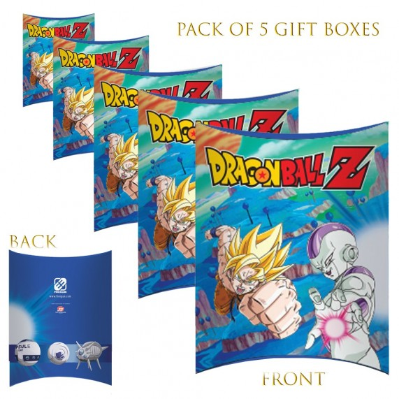 Lot de 5 Boites cadeaux berlingot Dragon Ball Z 2020 (Boites cadeaux) French Market chez FrenchMarket