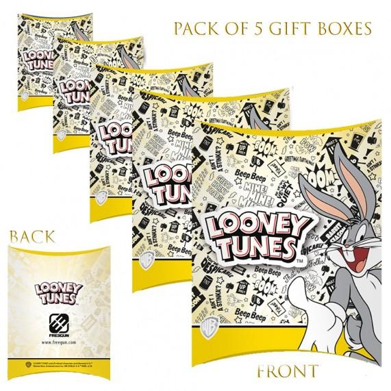Lot de 5 Boites cadeaux berlingot Looney Tunes (Boites cadeaux) French Market chez FrenchMarket