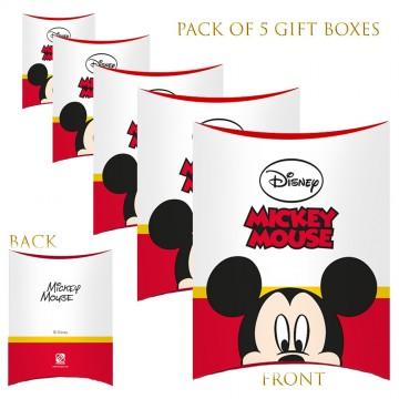 Lot de 5 Boites cadeaux berlingot Disney (Boites cadeaux) French Market chez FrenchMarket