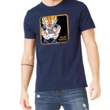 Capslab T-Shirt Homme Dragon Ball Z Majin Vegeta (T Shirts) Capslab chez FrenchMarket