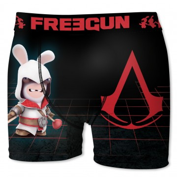 Boxer FREEGUN Homme Lapins Crétins Assassin Creed  (Boxers) chez FrenchMarket