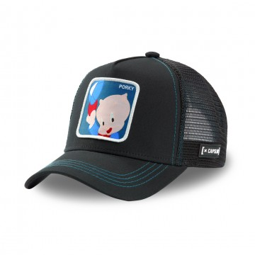 Casquette Trucker Looney Tunes Porky Pig (Casquettes) Capslab chez FrenchMarket