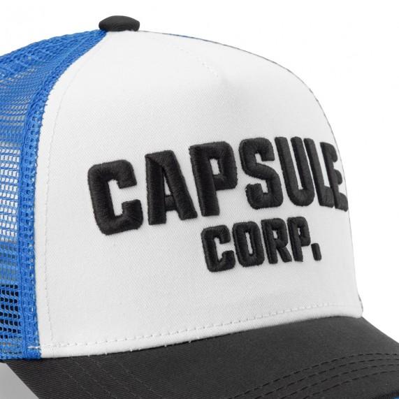 Casquette Trucker Dragon Ball Z Capsule Corp. Logo (Casquettes) Capslab chez FrenchMarket