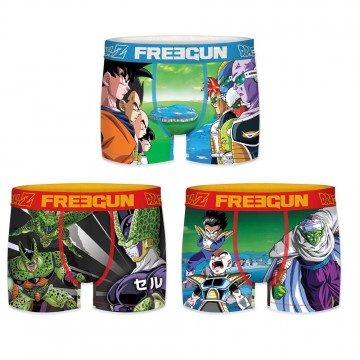 Lot de 3 Boxers FREEGUN Homme Dragon Ball Z  (Boxers) chez FrenchMarket