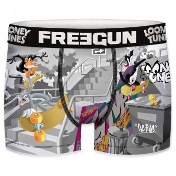 FREEGUN Boxer Homme Looney Tunes Skateboard (Boxers) Freegun chez FrenchMarket