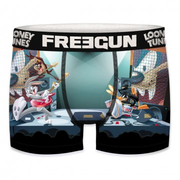 FREEGUN Boxer Homme Looney Tunes Rock&Roll  (Boxers) chez FrenchMarket