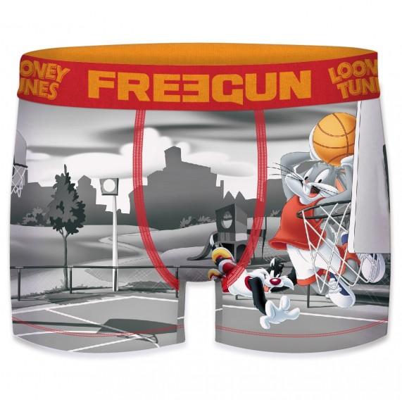 FREEGUN Boxer Homme Looney Tunes Basket-Ball (Boxers) Freegun chez FrenchMarket