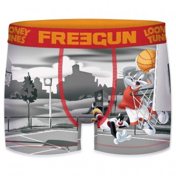 FREEGUN Boxer Homme Looney Tunes Basket-Ball (Boxers) Freegun chez FrenchMarket