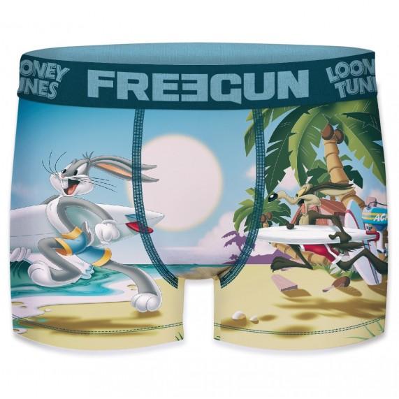 FREEGUN Boxer Homme Looney Tunes Surf (Boxers) Freegun chez FrenchMarket