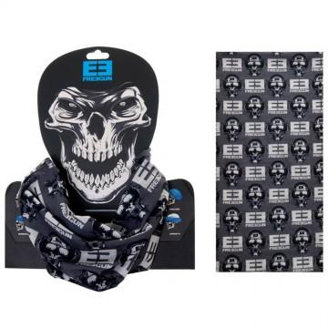 FREEGUN Tour de Cou Tubulard Foulard Skull Blanc (Tour de Cou) Freegun chez FrenchMarket