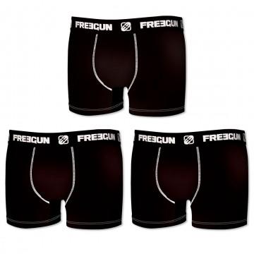 Lot de 3 Boxers Coton Homme (Boxers) Freegun chez FrenchMarket