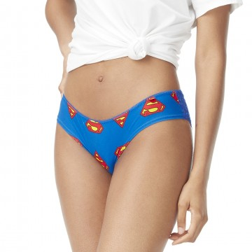 Freegun Tanga Femme DC Comics Superman  (Culottes) chez FrenchMarket