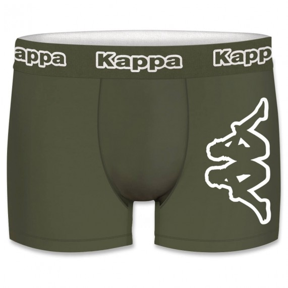 Boxers Homme Coton Pack de 4 Big Logo (Boxers) Kappa chez FrenchMarket