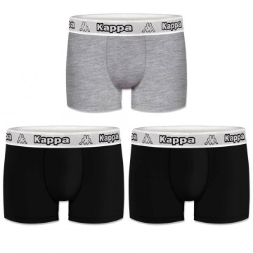 Boxers Homme Pack de 3 Coton Superieur (Boxers) Kappa chez FrenchMarket