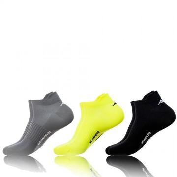 Lot de 3 Paires de Chaussettes Kappa Tiges Courtes Sport  (Chaussettes) chez FrenchMarket