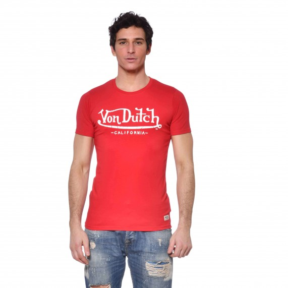 Von Dutch T-Shirt Homme Slim Fit  (T Shirts) chez FrenchMarket