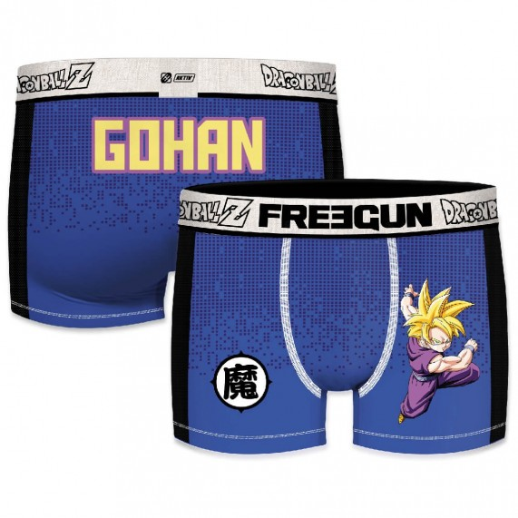 FREEGUN Boxer Homme Aktiv Sport Dragon Ball Z GOHAN (Boxers) Freegun chez FrenchMarket