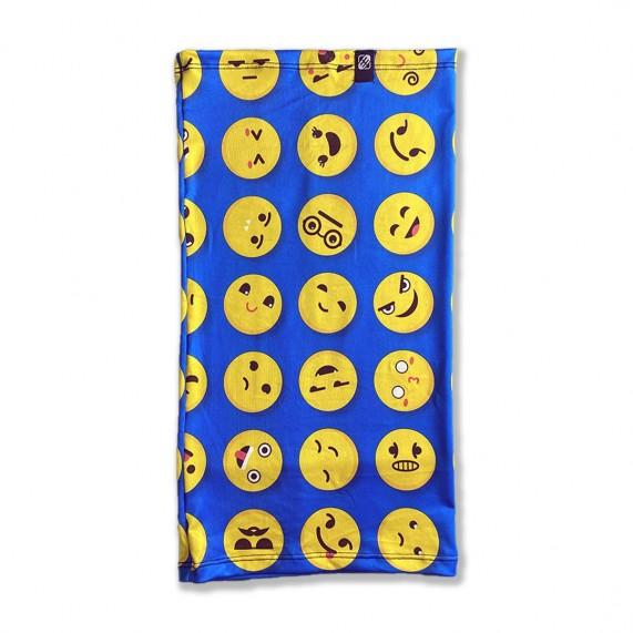 FREEGUN Tour de Cou Tubulard Foulard Smiley Bleu (Tour de Cou) Freegun chez FrenchMarket