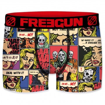 FREEGUN Boxer Homme Collection Comics Fear  (Boxers) chez FrenchMarket