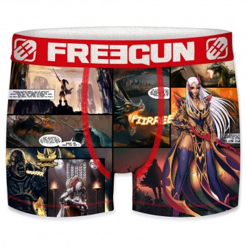 FREEGUN Boxer Homme Collection Comics Dragon (Boxers) Freegun chez FrenchMarket