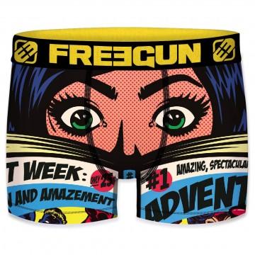 FREEGUN Boxer Homme Collection Comics Roy Lichtenstein (Boxers) Freegun chez FrenchMarket