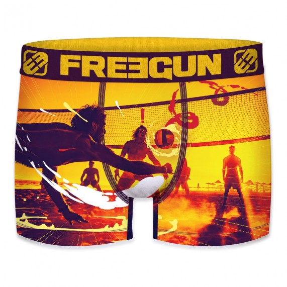 Boxer Freegun Homme Photo Sport Volley-Ball (Boxers) Freegun chez FrenchMarket