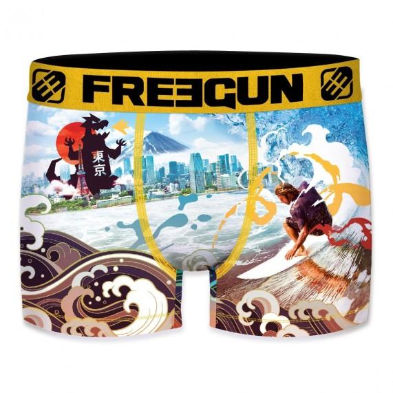 Boxer Freegun Homme Photo Sport Japan Surf (Boxers) Freegun chez FrenchMarket