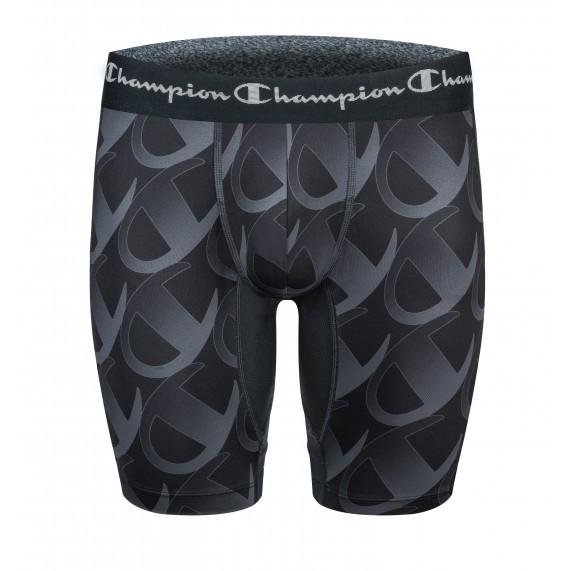 Boxer Homme Long Noir (Boxers) Champion chez FrenchMarket