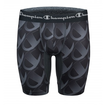 CHAMPION Boxer Homme Long Noir  (Boxers) chez FrenchMarket