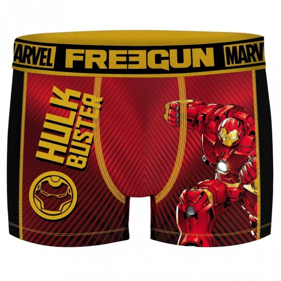 FREEGUN Boxer Homme Aktiv Sport Marvel Iron Man (Boxers) Freegun chez FrenchMarket