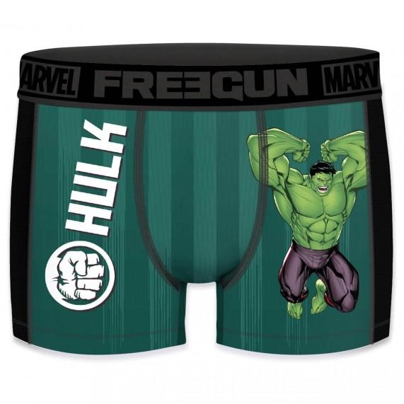 FREEGUN Boxer Homme Aktiv Sport Marvel Hulk  (Boxers) Freegun chez FrenchMarket