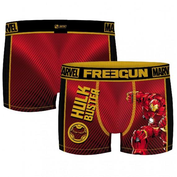FREEGUN Lot de 4 Boxers Homme Aktiv Sport Marvel (Boxers) Freegun chez FrenchMarket