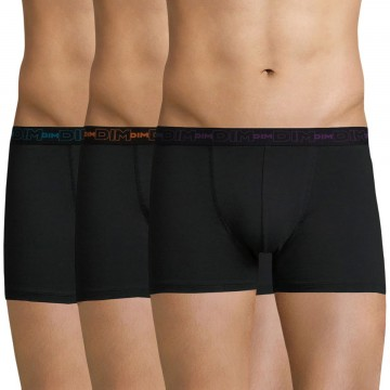 Boxers Homme Coton Stretch Lot de 3  (Boxers) chez FrenchMarket
