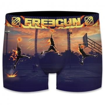 Boxer Freegun Homme Photo Sport Basket-ball  (Boxers) chez FrenchMarket