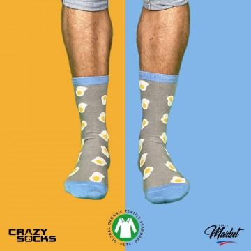 CRAZY SOCKS Chaussettes Food Coton Bio (Chaussettes fantaisies) Crazy Socks chez FrenchMarket