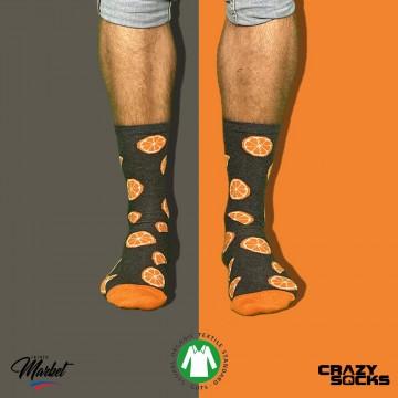 CRAZY SOCKS Chaussettes Fruits Coton Bio (Chaussettes fantaisies) Crazy Socks chez FrenchMarket