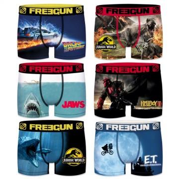 FREEGUN Lot de 6 Boxers Homme Film Cinéma Universal (Homme) Freegun chez FrenchMarket