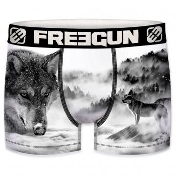 Boxer Homme Freegun Loup (Boxers) Freegun chez FrenchMarket