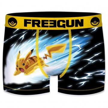 Boxer Homme Pokemon Pikachu Boule Elek (Boxers) Freegun chez FrenchMarket