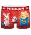 FREEGUN Boxer Homme Lapins Crétins Collection Fast City  (Boxers) chez FrenchMarket