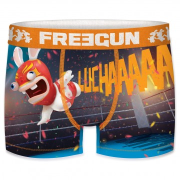FREEGUN Boxer Enfant Ado Lapins Crétins Collection Fast City  (Boxers) chez FrenchMarket