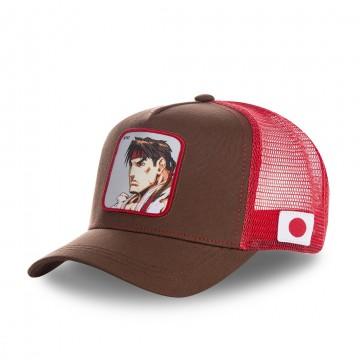 CAPSLAB Casquette Trucker Street Fighter 2 RYU  (Casquettes) chez FrenchMarket