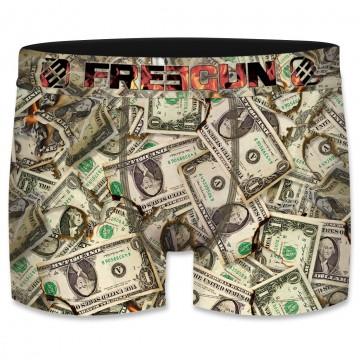 Boxer Homme Dollars (Boxers) Freegun chez FrenchMarket