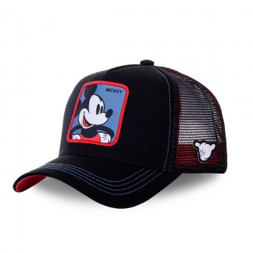 CAPSLAB Casquette Trucker Disney Mickey Mouse  (Casquettes) chez FrenchMarket
