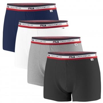 Boxers Premium Homme Coton - Lot de 4 (Boxers) Fila chez FrenchMarket
