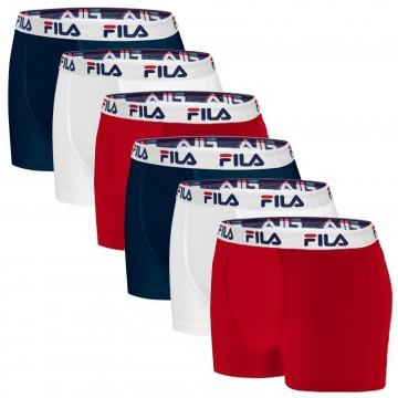 Boxers Homme Coton Lot de 6 (Boxers) Fila chez FrenchMarket