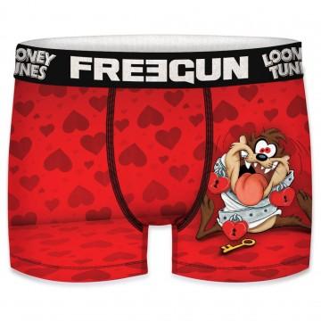 Boxer Homme Looney Tunes Saint Valentin Taz (Boxers) Freegun chez FrenchMarket