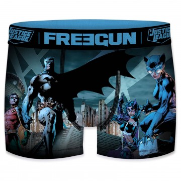 Boxers Homme DC Comics Justice League (Boxers) Freegun chez FrenchMarket